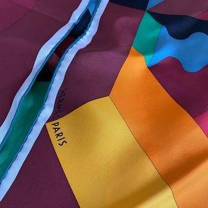 Hermès Paris Silk Scarf - Colour Block